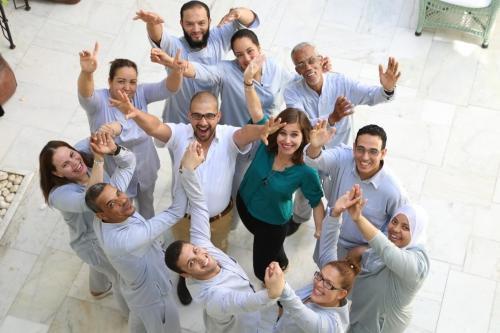 Ouafa, Naima, Nezha, Nasira, Salah, Rabie, Omar, Amine, Abdel, Mohamed, Karine