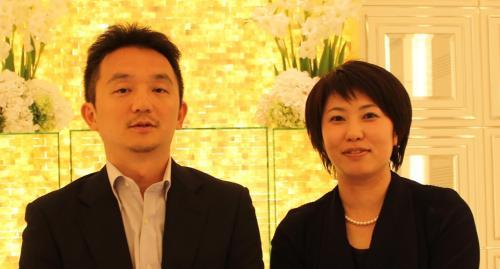 Kazunori and Yumi