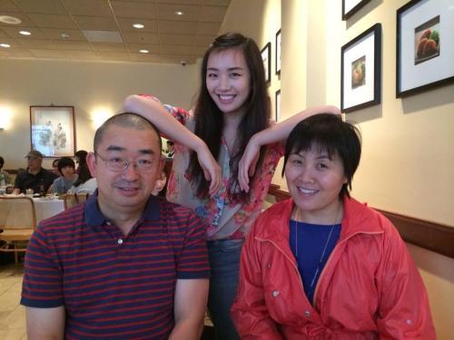 John & Lily & daughter