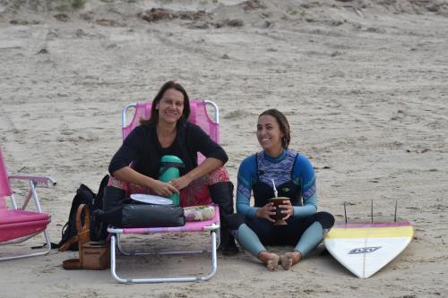 Martha (mãe) e Paola (filha)