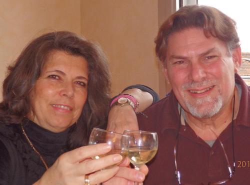 Dimitris(Owner/Manager)&Eleni Valassopoulou(actual boss)