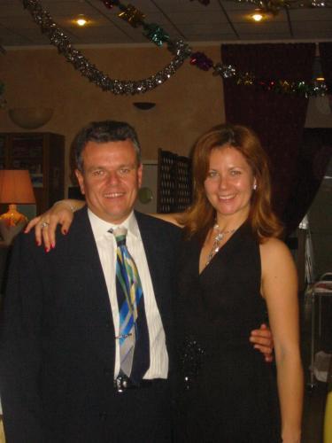 Roberto e Nataliya, proprietari e gestori