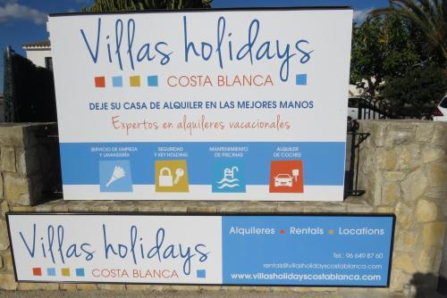 VILLAS HOLIDAYS COSTA BLANCA, S.L.