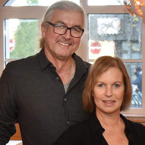 Ihre Gastgeber Andrea Kunkel und Michael Heide