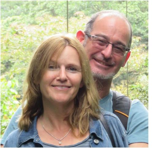 Silvia and Shaun Upton