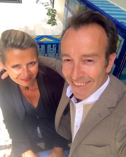 Marie-Victoire et Christophe