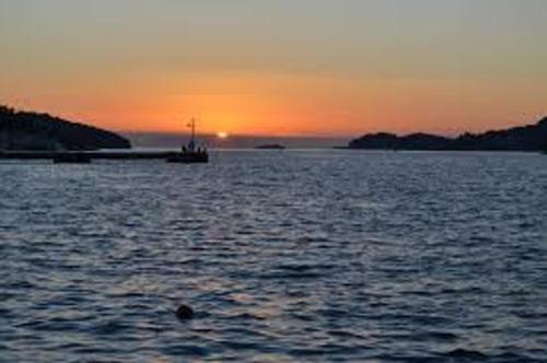 Vela Luka sunset