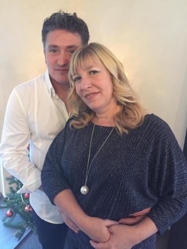 Ronnie en Kristel