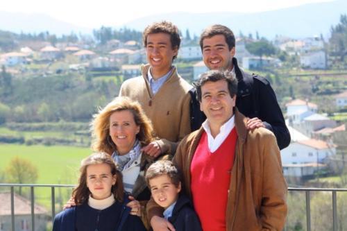 Rita, Carlos, Duarte, Guilherme, Miguel e Rita Melo Ribeiro