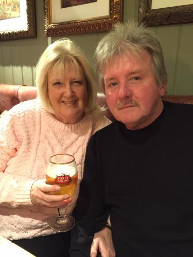 Lynda and Mick
