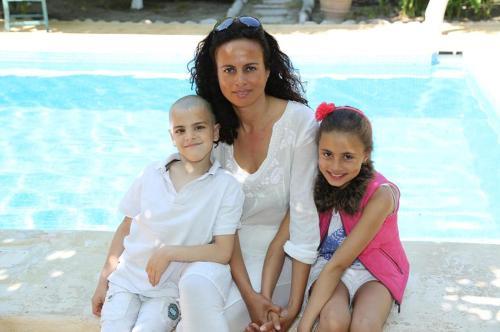 Gudrun & kids