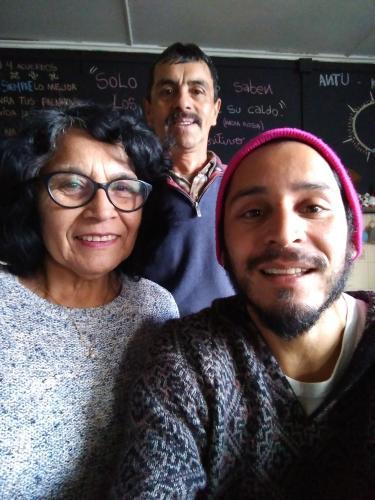 Eliana ,  Francisco y Alejandro