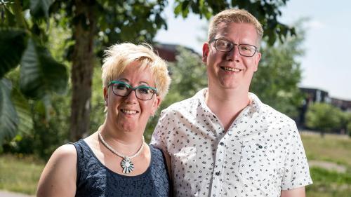 Linda Oosterlaar und Frank Lubbers