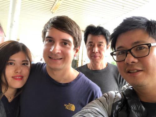 Sayumi, Steven, Mark, Paku