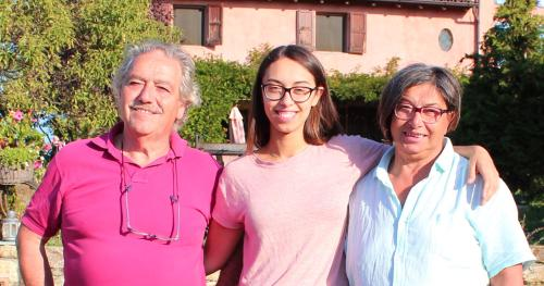 Gaia, Luisa e Guido