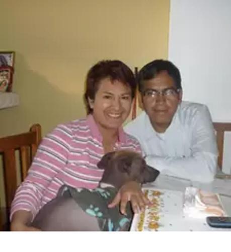 Maria Antonieta y Ruben Dario