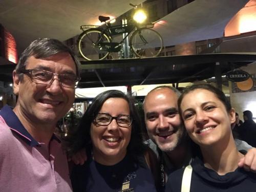 António, Cristina, Nuno and Camilla