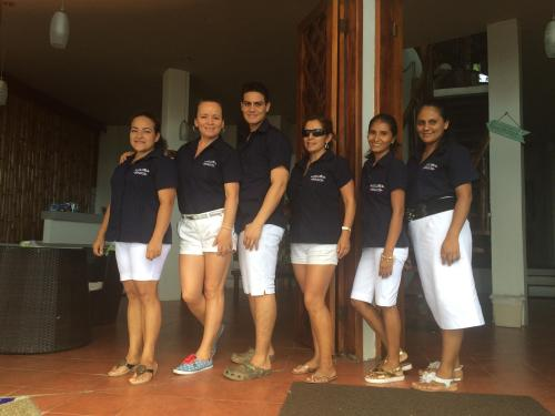 Staff MIconia and Sea side