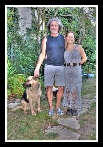 Nathalie , Bernard et Sam
