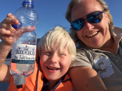 Fraukje Bruggink met mijn zoontje