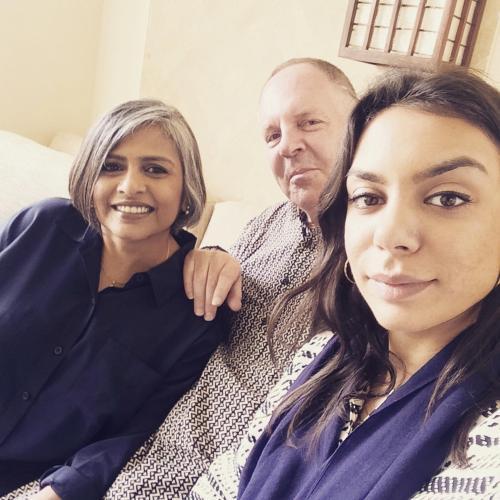 Ragini, Scott and Sachi Annan