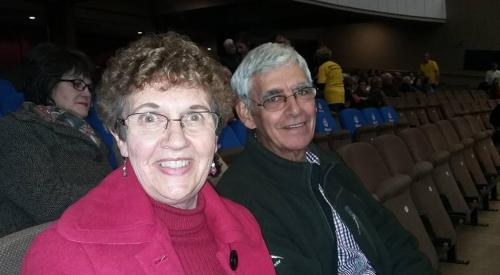 Henda and Richard Smith
