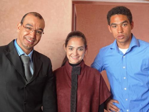 Hassan, Denise, Adrien