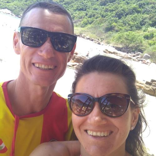 Liziane e Flávio
