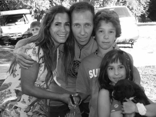 Marisa, Kevin, Thomy y Josefina.