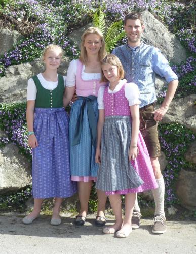 Martina, Harald, Magdalena und Miriam